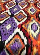 Multicolor Musk Cotton 100X100 Weaving Printed Fabric 105