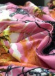 Multicolor Musk Cotton 100X100 Weaving Printed Fabric 121