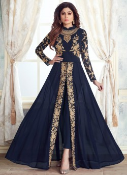 5ad5ed0c54 Gold By Aashirwad Creation 8106 Colours Designer Anarkali Suits At Wholesale  Price