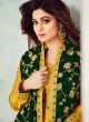 Pure Georgette Embroidered Churidar Suits Festival Wear In Yellow Color Mahira Vol 2 8241 By Aashirwad Creation SC/015489