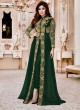 Georgette Party Designer Suit In Green Color shamita Gold 8001E SC/006923