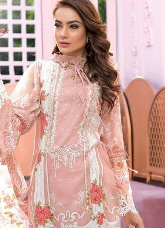 Pink Pure Cotton Resham Work Designer Daily Wear Pakistani Suits Firdous Vol 2 900603 By Deepsy SC/015673