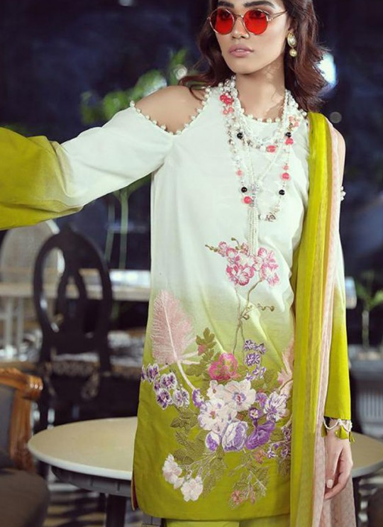 Green Pure Cotton Printed Designer Pakistani Suits Muslin Vol 5 700509 By Deepsy SC/015044