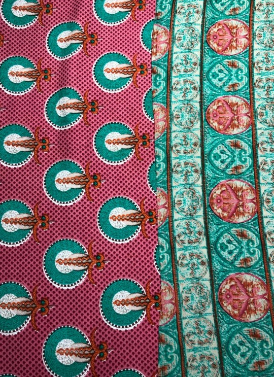 Multicolor Inayat Rayon 140 GSM Printed Fabric 448
