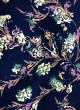 Multicolor Rubaru Satin Printed Fabric 205