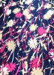 Multicolor Rubaru Satin Printed Fabric 216