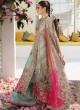 Multi Color Organza Embroidered Party Wear Pakistani Suits El Monte By Fepic SC/016236
