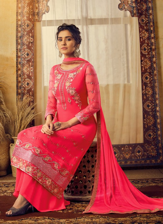 Pink Georgette Mishti 2nd Edition 6125 By Hotlady SC/016820