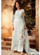 Grey Georgette Palazzo Style For Ceremony Fulkari 7175 By Hotlady SC/016354
