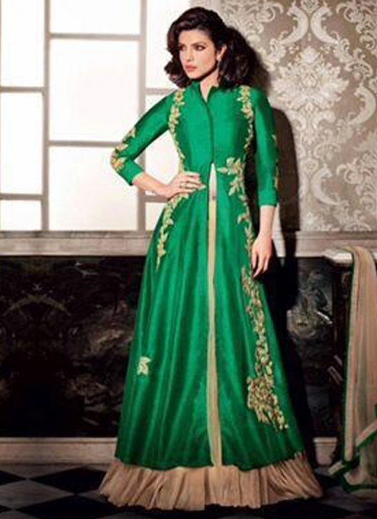 Green As Per Image Festival Party Heroine 5122 By Jinaam Dresses SC/002429