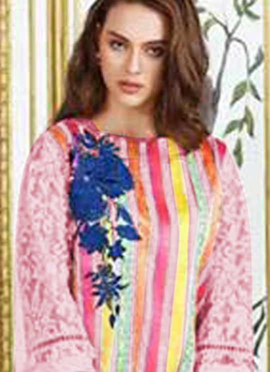 Charizma Festive Collection Hit Designs Colours BY Kilruba 43A Pink Cocktail Pakistani Shalvar Kameez