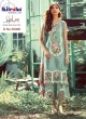 Elaf By Kilruba 30006Set Green Pure Lawn Cotton Designer Pakistani Suit