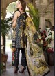 Captivating Navy Blue Pure Cotton Cambric  Pakistani Suits Jannat Lawn Art SS02 By Kilruba SC/016123