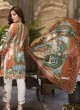 Pleasant Yellow Pure Cotton Cambric  Pakistani Suits Jannat Lawn Art SS04 By Kilruba SC/016125