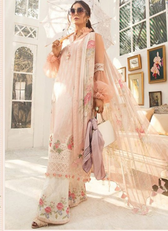 Pink Lawn Eid Wear Pakistani Suit Mprint Lawn Collection 2020 25006 By Kilruba