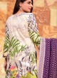 Rang Rasiya Royal Soiree Dupatta By Kilruba 29006 Cream Cotton Party Wear Pakistani Lawn Suit
