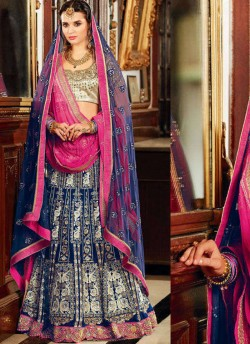 49c355816a 208 to 211 Series A-Line Wedding Wear Lehenga Choli Collection By Kimora