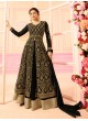 Black Georgette Skirt Kameez Nitya Vol-122 2210 By Lt Fabrics