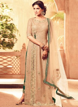 aadfaf5710 Peach Net MASKEEN ADDICTION-13 27004 Pakistani Suit By Maisha SC/009232