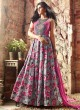 Multicolor Banarsi Silk Maskeen 3400 Series 3402 Gown Style Anarkali By Maisha SC/000325