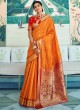 Yellow Pure Paithani Silk Designer Saree KASTURI SILK 95004 By Rajtex