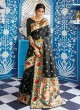 Black Handloom Silk Party Wear Saree KATYANI SILK 96006 By Rajtex