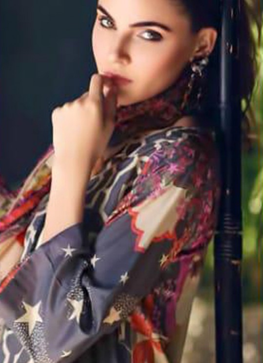 Blue Pure Cottom Pakistani Suit Charizma Aniq Collection 3118 By Shree Fabs SC/016223