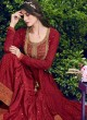 Violet Vol 31 By Swagat 6404 Maroon Chiffon Party Wear Designer Suit