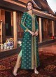 Wedding & Party Wear Floor Length Anarkali In Green Color Violet Vol 26 - 6105 By Swagat SC/016381