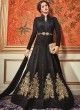 Black Tussar Silk Indo Western Suits Dcat-41 4103 By Vipul Fashions Sc/003311