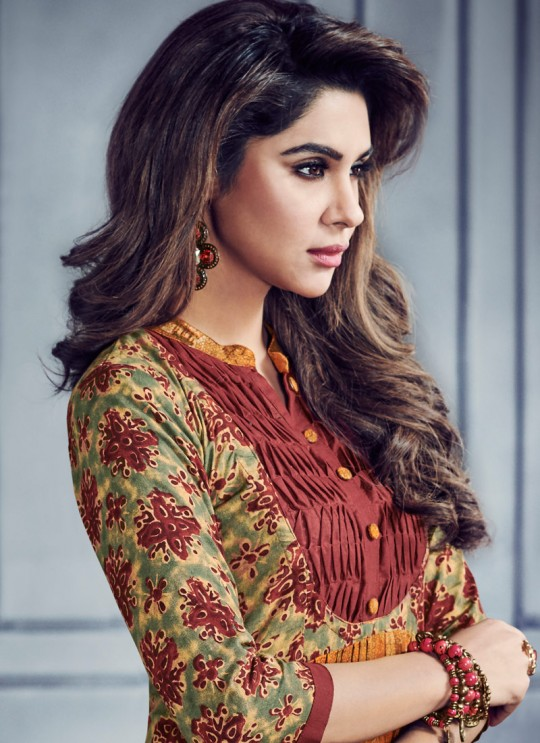 Multicolor Rayon Printed Party Wear Kurti SHABYATA 8001 By Arihant