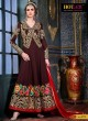 Brown Georgette Floor Length Anarkali Saheena 5775 By Hotlady SC/003624