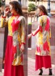 Red Rayon KUMB CLASSIC 1212 Party Wear Kurtis By Sparrow SC/010052