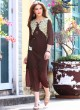 Brown Georgette KUMB EXPRESS 1194 Party Wear Kurtis By Sparrow SC/009561
