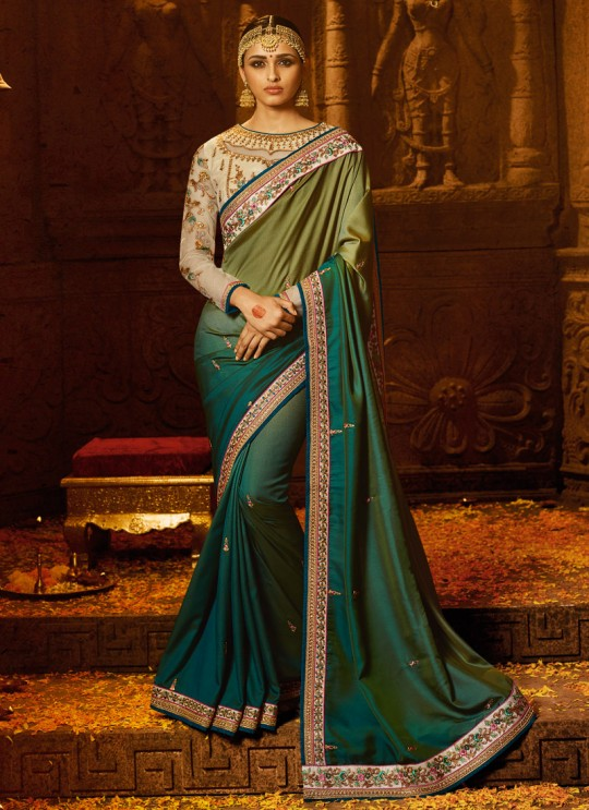 Green Silk Wedding Saree Sakshi Vol 4 1184 By Ardhangini