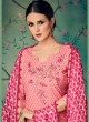 Peach Cotton Straight Cut Suit BAGHBAN 15004 By Deepsy