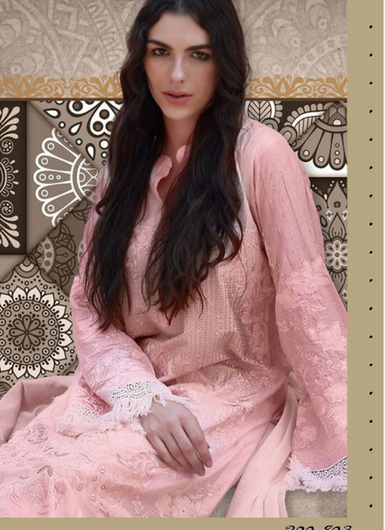 Pink Cotton Pakistani Salwar Kameez RINAAZ Vol-2 200803 By Deepsy
