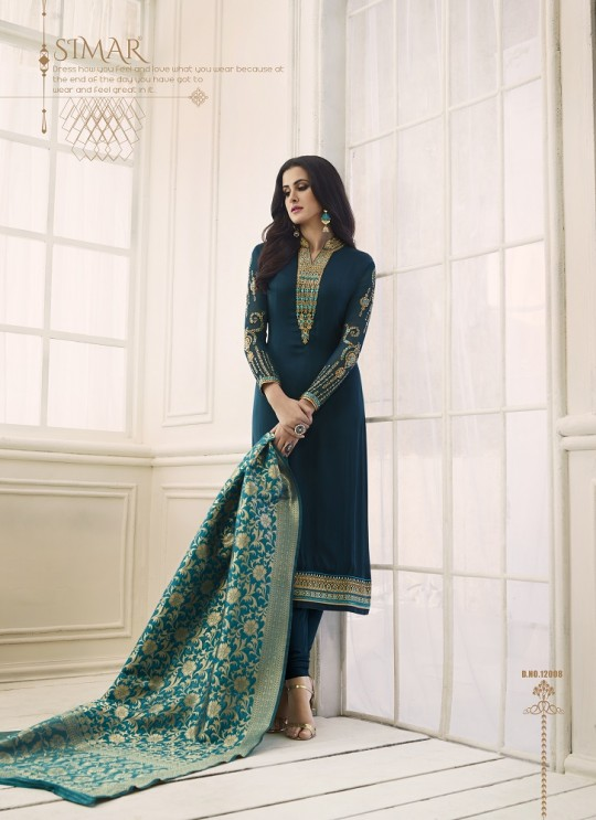 Shabana By Glossy 12008 Designer Suit