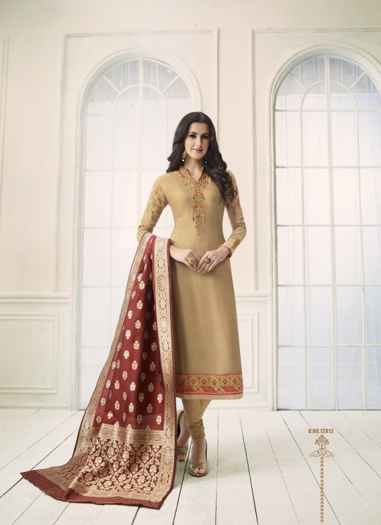 Shabana By Glossy 12012 Designer Suit