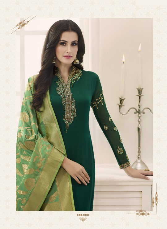 Shabana By Glossy 12013 Designer Suit