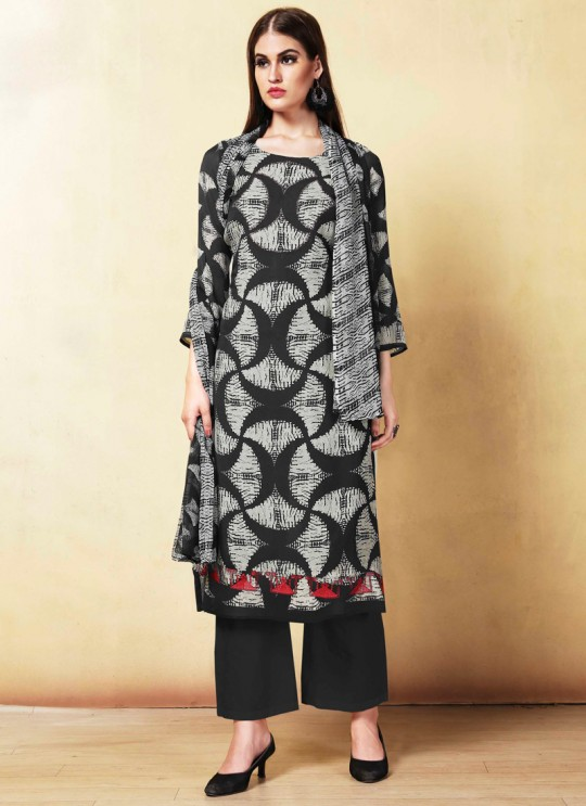 Black Cambric Cotton  Pant Style Suit Saidha vol 1 1006 By Volono Trendz