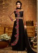 Black Georgette Embroidered Gown Style Anarkali MEHZABEEN VOL-2 2491 By Bela Fashion