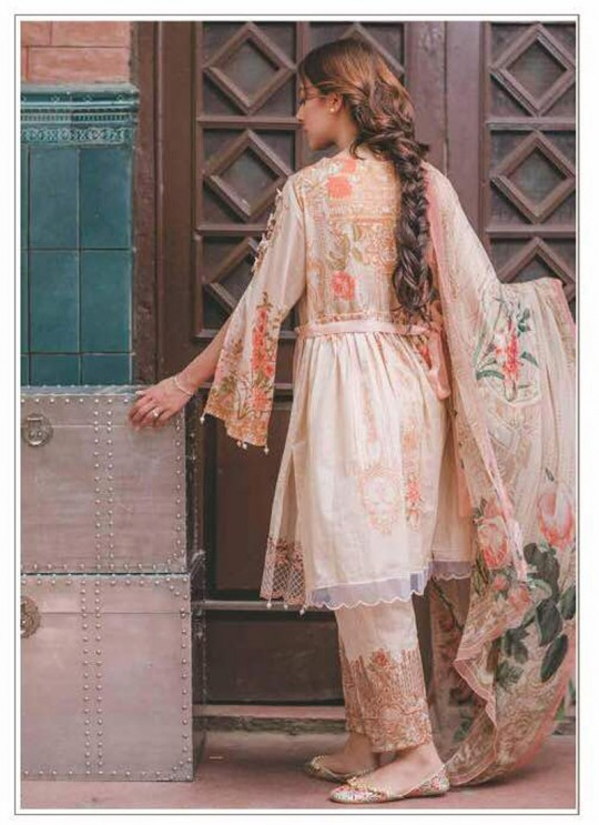 Pink Cotton Pakistani Salwar Kameez CARNATION 65005 By Deepsy