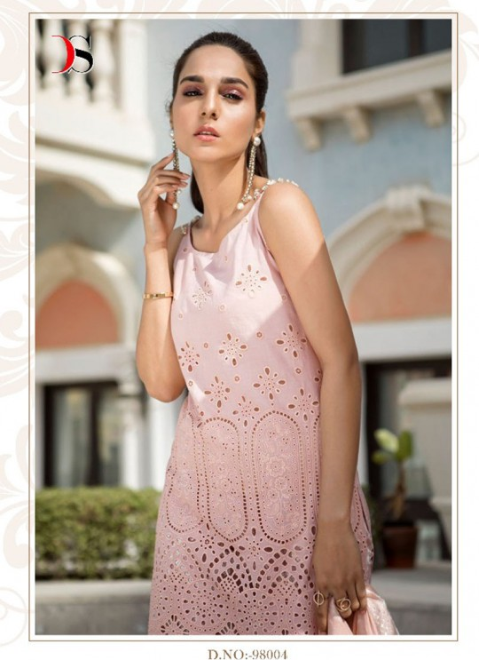 Peach Cotton Pakistani Salwar Kameez MARIA B-3 98004 By Deepsy