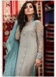 Grey Cotton Pakistani Salwar Kameez MARIA B-3 98005 By Deepsy