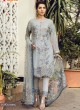 Grey Georgette Embroidered Pakistani Salwar Suit ROSEMEEN PEARLS BY FEPIC 21001 TO 21006 SERIES Fepic 21005