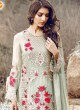 Dusty Green Georgette Embroidered Pakistani Salwar Suit ROSEMEEN ELITE BY FEPIC 3001 TO 3006 SERIES Fepic 3004